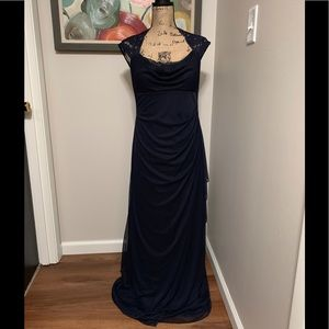 Gorgeous Xscape by Joanna Chen Navy Blue Gown❣️